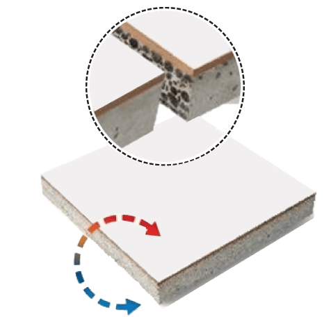 ECA Roof Top Thermal Insulation Tile